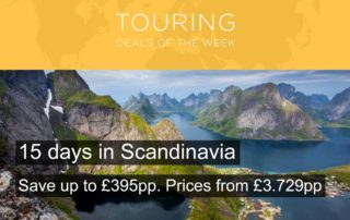 15 day Scandinavia Tour Offer - May 2018