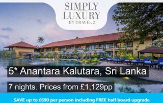 5-star Anantara Kalutara, Sri Lanka