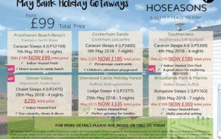 Pearl King Travel - Hoseason May bank Holiday Getaways 18