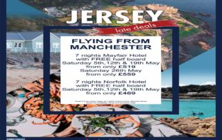Pearl King Travel 7 Nights Jersey